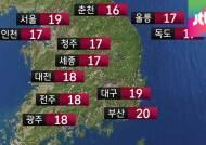 [날씨] 낮 기온 상승…큰 일교차 주의