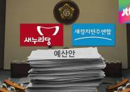 여야 치열한 '예산 전쟁'…박근혜표 예산 보류 잇따라