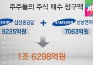 주주들 NO … 삼성중·엔지니어링 합병 깨졌다