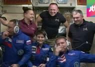 이탈리아 최초 여성 비행사, 커피머신 들고 ISS 도착