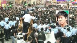 """'홍콩 시위' 학생 지도자 잇단 체포…""""시위 동력 상실"""""""