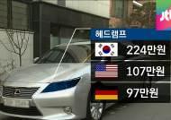 수입차, 부품도 '호갱'…해외보다 최고 2.5배 비싼 가격