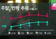 [날씨] 충청 이남 빙판길…주말 전국 기온 '뚝'