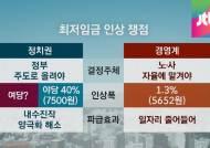 정치권까지 가세한 '최저임금 인상론'…쟁점 짚어보니
