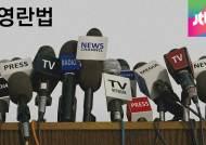 """김영란, """"언론자유 침해않도록 특단 조치해야…위헌은 아니다"""""""