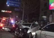 20대 음주 운전자, 중앙선 넘어 역주행 사고…3명 중상