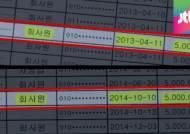 """[단독] 이 총리 정치후원금 추적…""""차명으로 1천만원"""""""