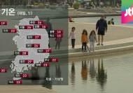 [날씨] 내일 전국 '맑음'…일교차 큰 초여름 날씨