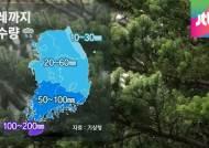 [날씨] 태풍, 대만 인근 북상…내일 전국에 비