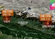 18일 만에 또 '강진', 네팔 대지진 현장에 직접 가보니…