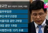 '미스터 국보법' 황교안 총리 후보자의 주요 이력은?