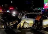 차량 두 대 들이받고 뺑소니…가해 운전자는 사라져