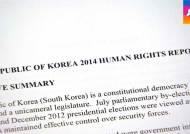 [청와대] 미 국무부 보고서…한국 인권에 '송곳 지적'