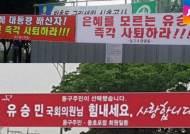 [국회] 대구 동구, 유승민 찬반 현수막 논란…민심은?