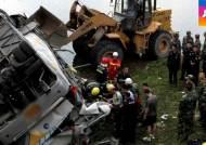 """중국 버스사고 사망자 무려 11명…""""안전벨트에 문제"""""""
