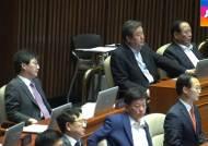 """야당 """"민주주의 파산선고""""…여야, '국회법' 2시간 설전"""