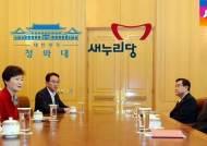 박 대통령-김무성 독대…당·정·청 회의 재가동 전망