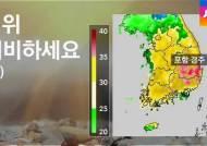 [날씨] 폭염 계속…경기 북부 등 소나기