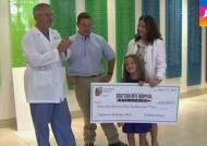 미국 8살 소녀, 8천만원 모금해 병원에 기부…사연은?