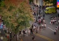 [밀착카메라] '홍대 스타일' 무단횡단?…황당 보행자들
