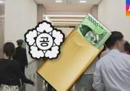 공무원 100만원 이상 금품·향응 받으면 무조건 '아웃'