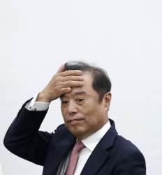 김병준도 깜짝 놀란 텅 빈 '한국당 곳간'