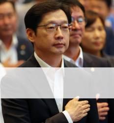 """통화내역 꺼내자 말바꾼 김경수 """"센다이, 인사 추천은 했을 수도"""""""