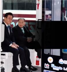 """판교 온 北이종혁 시범 자율차 탄 뒤 """"실험동물 됐네요"""""""