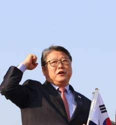 """박근혜 """"한국당에 기대없다"""" 조원진의 애국당 창당 비화"""
