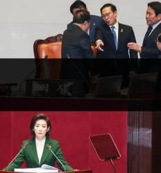나경원 연설문 네차례 회의 '수석대변인'엔 이견 없었다