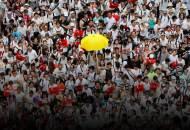 """700만명 홍콩서 100만 시위 """"中내정간섭 5년 분노 터졌다"""""""