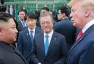 """""""북측 통일각서 둘만 보려던 북미···韓이 막았다"""""""