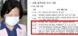 """국방부 자료에 野발칵  """"秋아들 해명문건 검찰 줬다"""""""