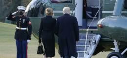 마지막까지 뒤끝 남긴 트럼프 바이든 줄 '핵가방' 들고 떠났다