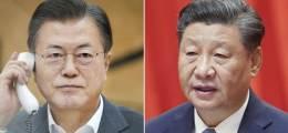 """文, 시진핑에 """"아시아 역할"""" 美 거북한 이슈들 쏟아냈다"""